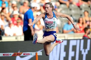Eilidh Doyle will be one of the GB athletes at the European Indoor Championships. Pic: Alexander Hassenstein/Getty
