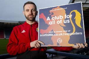 Scotland assistant coach James McFadden. Pic: SNS/Ross MacDonald