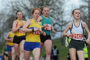 File image - Women take part in a Scottish running event. Picture: Alan Murray