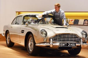 The brand will be forever associated with James Bond. Picture: John Stillwell/PA