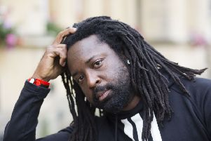 Marlon James PIC: David Hartley/REX/Shutterstock