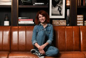 Jessie Buckley was in Glasgow today to launch Wild Rose at the city's film festival.
