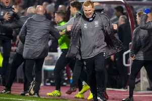 Celtic manager Neil Lennon has a message for fans and Leigh Griffiths. Picture: SNS/Ross Parker