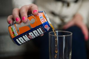 A key ingredient of success has been Barr's ability to keep their Irn Bru recipe under lock and key and out of competitors' clutches. Picture: John Devlin