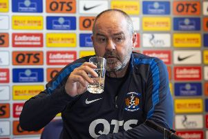 Steve Clarke has been linked with Fulham. Picture: SNS Group