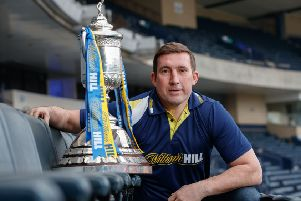 Former Hibs manager Alan Stubbs. Picture: Steve Welsh