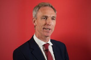 Jim Murphy says Gordon Brown vetoed the idea for a 2008 referendum. Photograph: Neil Hanna
