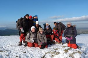 Young people on an Outward Bound course