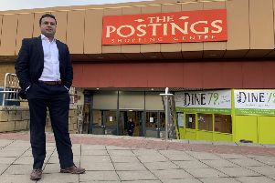Tahir Ali of Wakefield based Evergold Property - new owners of The Postings which will be renamed The Kirkcaldy Centre.'Picture from Tahir Ali