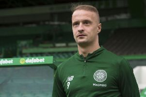 "It may not be ""feasible"" for Leigh Griffiths to play again for Celtic this season. Picture: SNS Group"