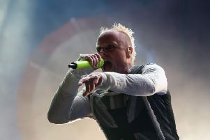 Prodigy singer Keith Flint. Picture: Ed Jones/AFP/Getty Images