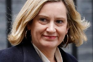 Work and pensions secretary Amber Rudd. Picture: Tolga Akmen/Getty