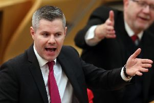 Cabinet Secretary for Finance, Economy and Fair Work Derek Mackay. Picture: PA