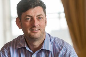 Edinburgh council's Labour group leader Cammy Day says the workplace parking levy is about creating a 'more sustainable Edinburgh' (Picture: Ian Georgeson)