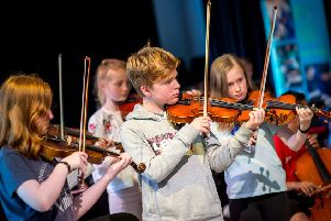 The Scottish Chamber Orchestra's partnership with Baillie Gifford will fund additional support projects. Picture: Fraser Band