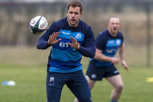 Scotland prop Allan Dell. Picture: SNS