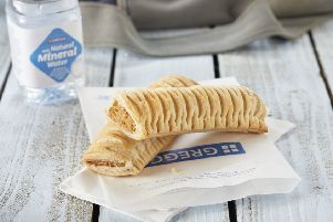 Greggs hailed the 'enthusiastic reception' to its vegan sausage roll as it lifted profit guidance for 2019. Picture: Greggs/PA Wire