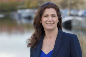 Catherine Topley was appointed chief executive of Scottish Canals last year. Picture: Peter Devlin