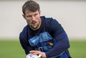 Peter Horne will be , a second receiver when the field splits. Picture: SNS/SRU.