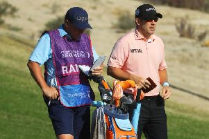 Richie Ramsay, right, is just two shots off the lead at the halfway stage. Picture: Warren Little/Getty Images