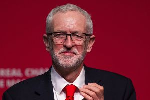 Jeremy Corbyn was speaking at the Scottish Labour spring conference in Dundee