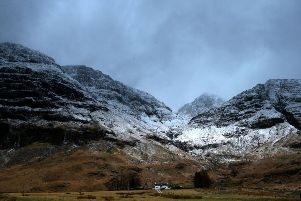 The two climbers were found after going missing overnight. Picture: Andrew Milligan/PA Wire