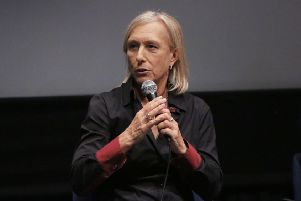 Former tennis champion Martina Navratilova expressed concern about trans gender women having an unfair advantage in sport. Picture: David Buchan/Rex/Shutterstock