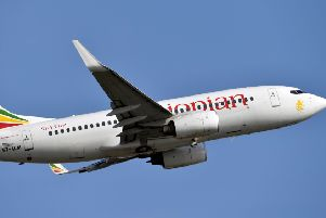 An Ethiopian Airline Boeing 737-700 aircraf Picture: ISSOUF SANOGO/AFP/Getty Images