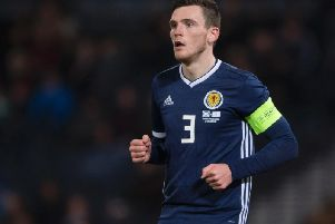 Andy Robertson is been dubbed the best left-back in the world. Picture: SNS