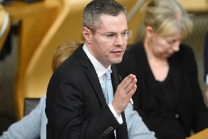 Finance Secretary Derek Mackay. Picture: PA