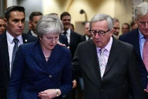 Prime Minister Theresa May spoke to EU Commission President Jean-Claude Juncker on Sunday
