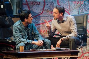 Ishy Din's Approaching Empty has echoes of Arthur Miller, but with a faster, wittier sitcom style