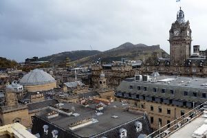 CYBG's SME health check showed Edinburgh as the fifth highest UK city in the final quarter of 2018. Picture: Jon Savage