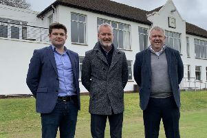 Brendan McKenna, managing director at ProDreamUSA, founder Lorne Kelly and Scottish Golf CEO Andrew McKinlay are excited about the new partnership.