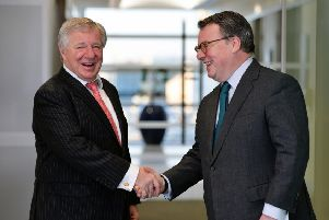 Former joint boss Martin Gilbert (left) will step down to become vice-chairman while Keith Skeoch is to be sole chief executive. Picture: Graham Flack