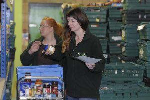 There are food banks in almost every town and village in Scotland. Picture: Neil Hanna