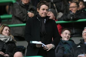 Hibs chief executive Leeann Dempster. Picture: SNS Group