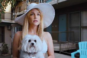 Riley Keough in Under the Silver Lake