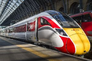 The Azuma trains will enter service on 15 May. Picture: contributed