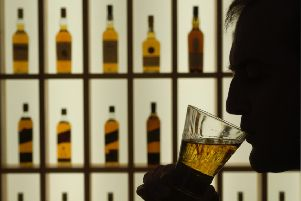 Whisky exports offset dips in other sectors, accounting for three-quarters of Scotland's total. Picture: Colin Hattersley
