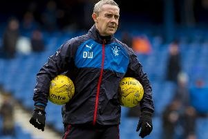 David Weir, pictured in 2016 when he was assistant manager of Rangers, now has a role with English Premier League side Brighton. Picture: SNS.