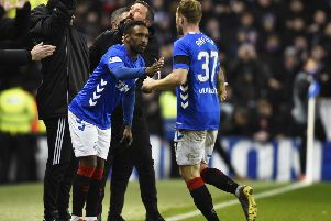 Jermain Defoe has been used as a substitute recently for Rangers. Picture: SNS