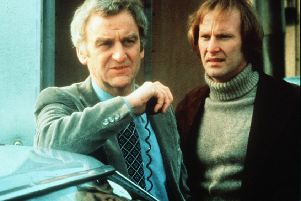 John Thaw and Dennis Waterman in The Sweeney