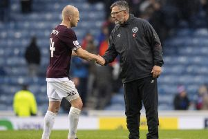 Craig Levein hopes to retain Steven Naismith. Picture: SNS/Craig Williamson