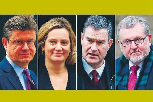 Left to right: cabinet rebels Greg Clark, Amber Rudd, David Gauke and David Mundell. Pictures: Ben Stansall, 'Tolga Akmen, Adrian Dennis, 'Daniel Leal-Olivas/Getty