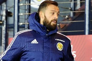 Striker Steven Fletcher will miss the Scotland double header. Picture: Michael Gillen