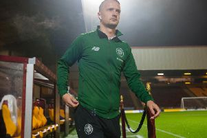 Leigh Griffiths could return soon for Celtic. Picture: SNS