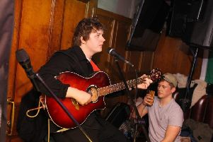 The 22-year-old played Biddy Mulligan's before heading to The Three Sisters. Picture: The Three Sisters