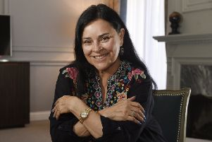 Author Diana Gabaldon at the Balmoral after winning the International Contribution to Scottish Tourism award at the Scottish Thistle Awards. Picture: TSPL