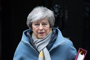 "Mrs May's spokesman said she voiced her ""absolute determination"" that MPs should have another chance to vote on her Brexit deal"